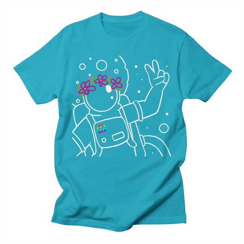 Come in Peace - White Women's Regular Unisex T-Shirt by Rachel Yelding | enchantedviolin