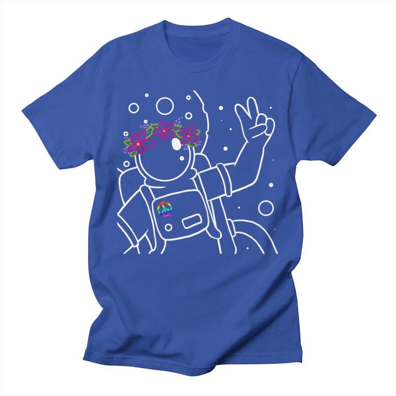Come in Peace - White Men's Regular T-Shirt by Rachel Yelding   enchantedviolin