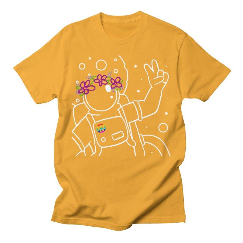 Come in Peace - White Women's Unisex T-Shirt by Rachel Yelding   enchantedviolin