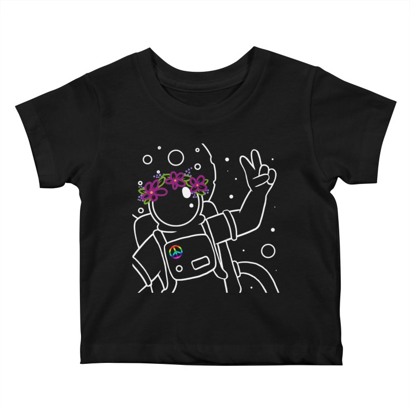 Come in Peace - White Kids Baby T-Shirt by Rachel Yelding | enchantedviolin