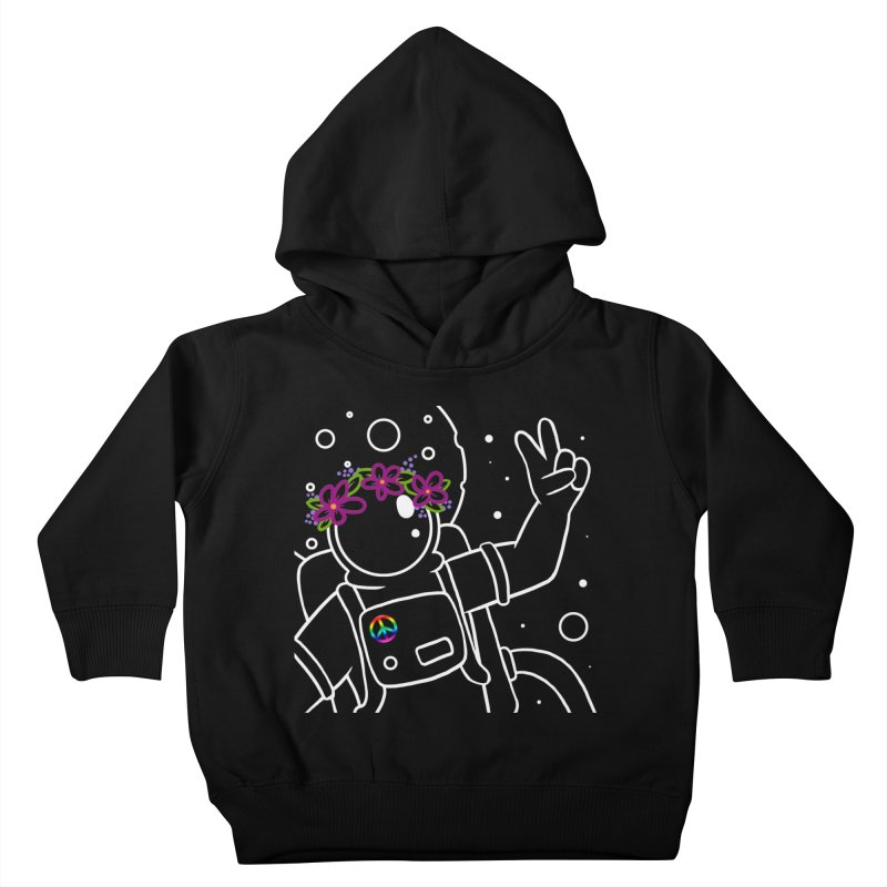 Come in Peace - White Kids Toddler Pullover Hoody by Rachel Yelding   enchantedviolin