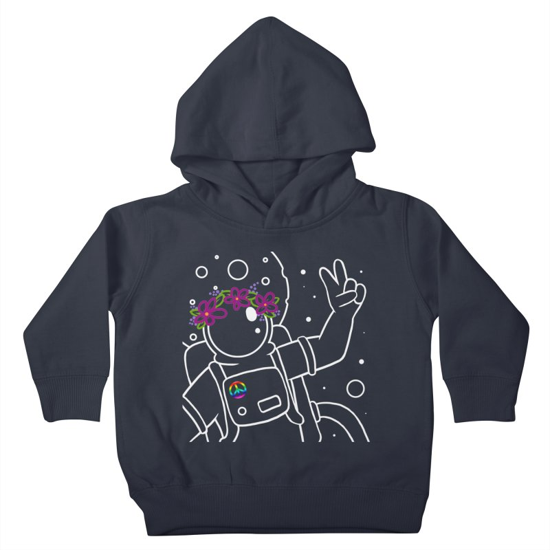 Come in Peace - White Kids Toddler Pullover Hoody by Rachel Yelding | enchantedviolin