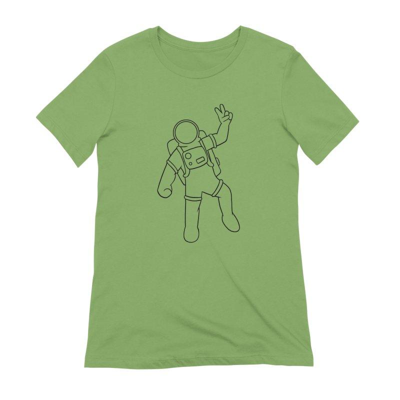Inter-Cool-Actic - Black - No Text Women's Extra Soft T-Shirt by Rachel Yelding   enchantedviolin