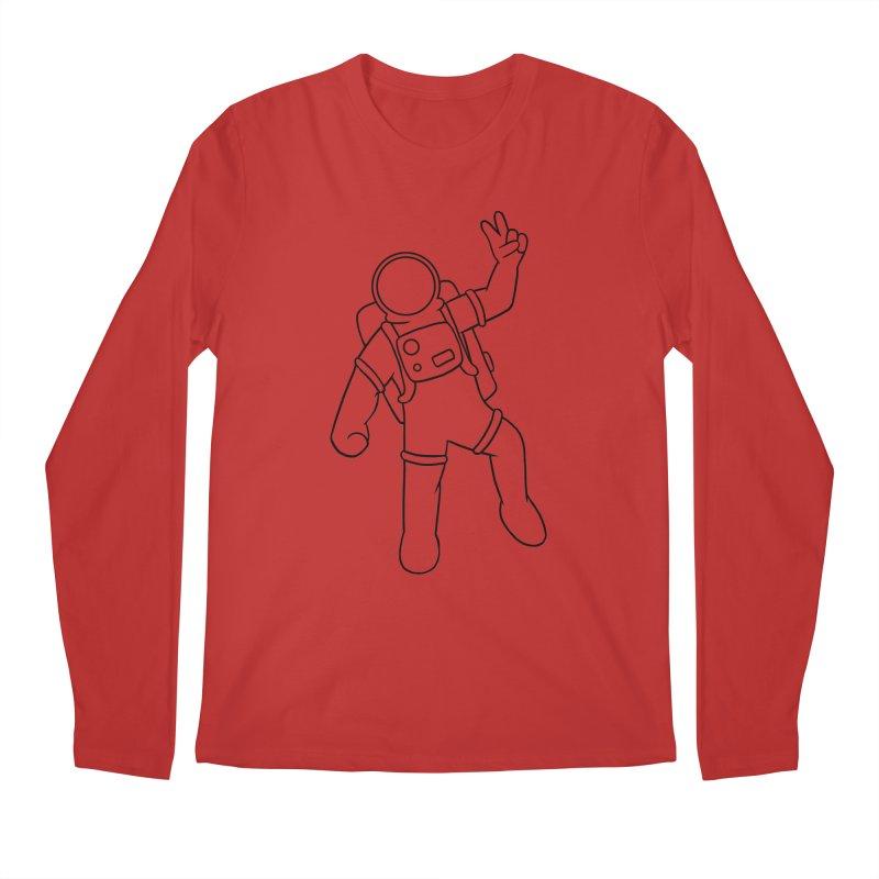 Inter-Cool-Actic - Black - No Text Men's Regular Longsleeve T-Shirt by Rachel Yelding | enchantedviolin