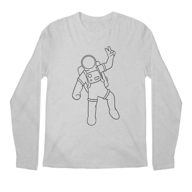 Inter-Cool-Actic - Black - No Text Men's Longsleeve T-Shirt by Rachel Yelding | enchantedviolin
