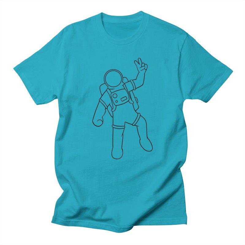 Inter-Cool-Actic - Black - No Text Men's Regular T-Shirt by Rachel Yelding | enchantedviolin