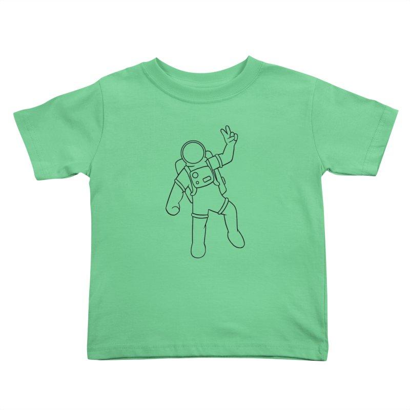 Inter-Cool-Actic - Black - No Text Kids Toddler T-Shirt by Rachel Yelding   enchantedviolin
