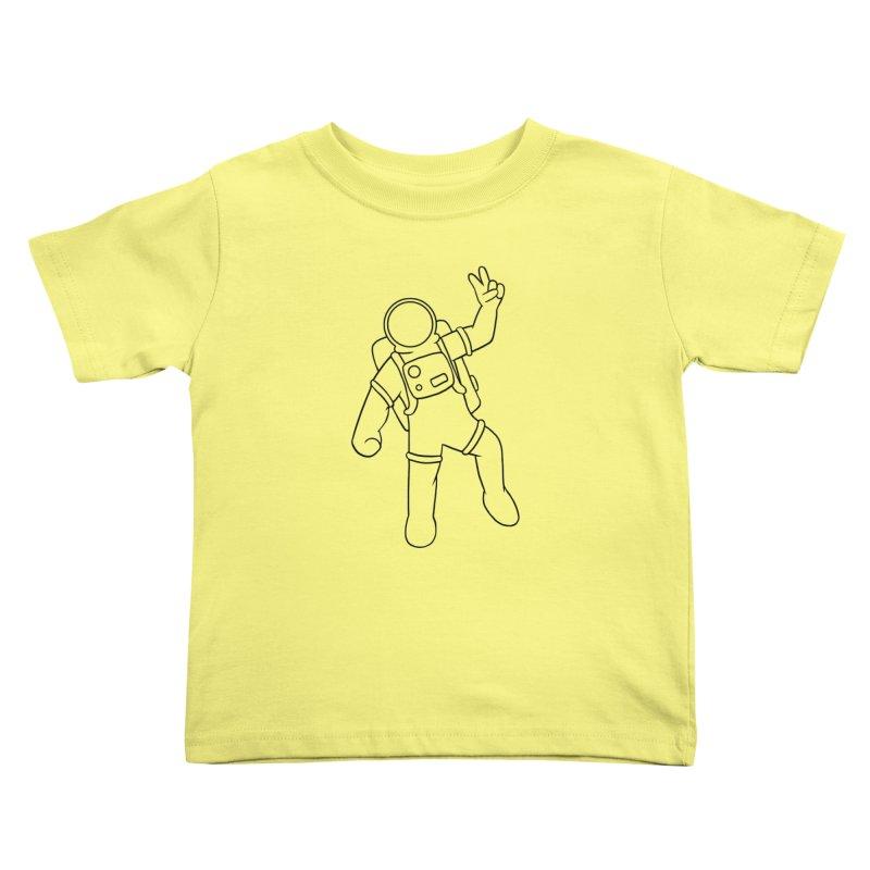 Inter-Cool-Actic - Black - No Text Kids Toddler T-Shirt by Rachel Yelding | enchantedviolin