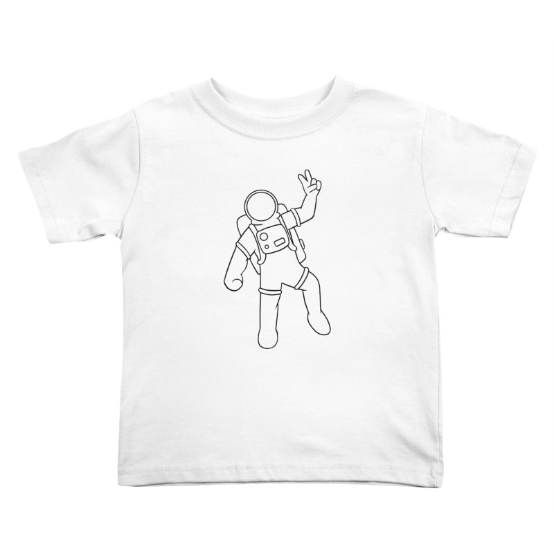 Inter-Cool-Actic - Black - No Text Kids Toddler T-Shirt by Rachel Yelding | enchantedviolin