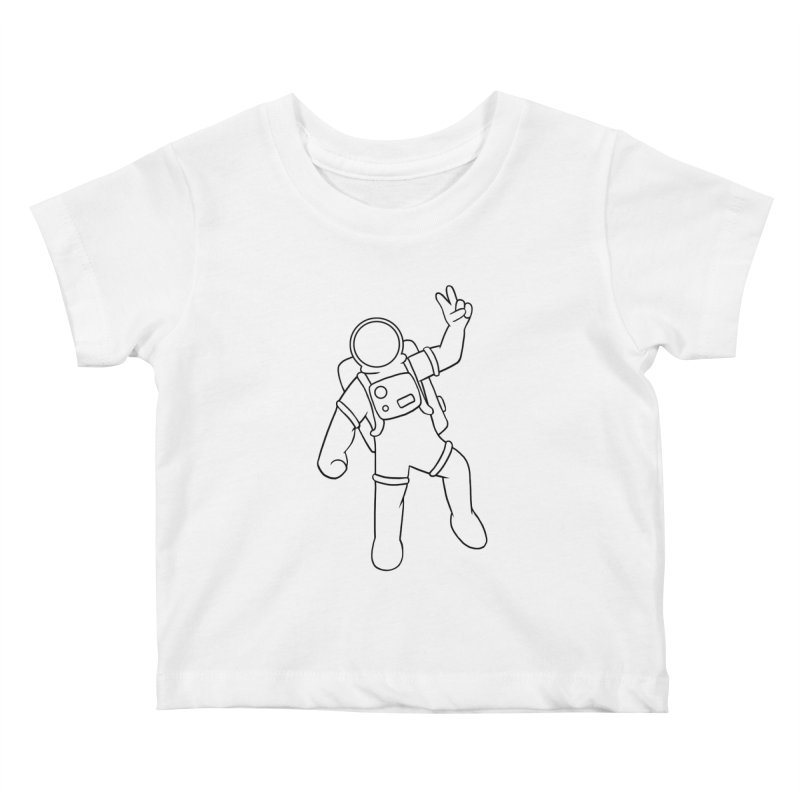 Inter-Cool-Actic - Black - No Text Kids Baby T-Shirt by Rachel Yelding | enchantedviolin