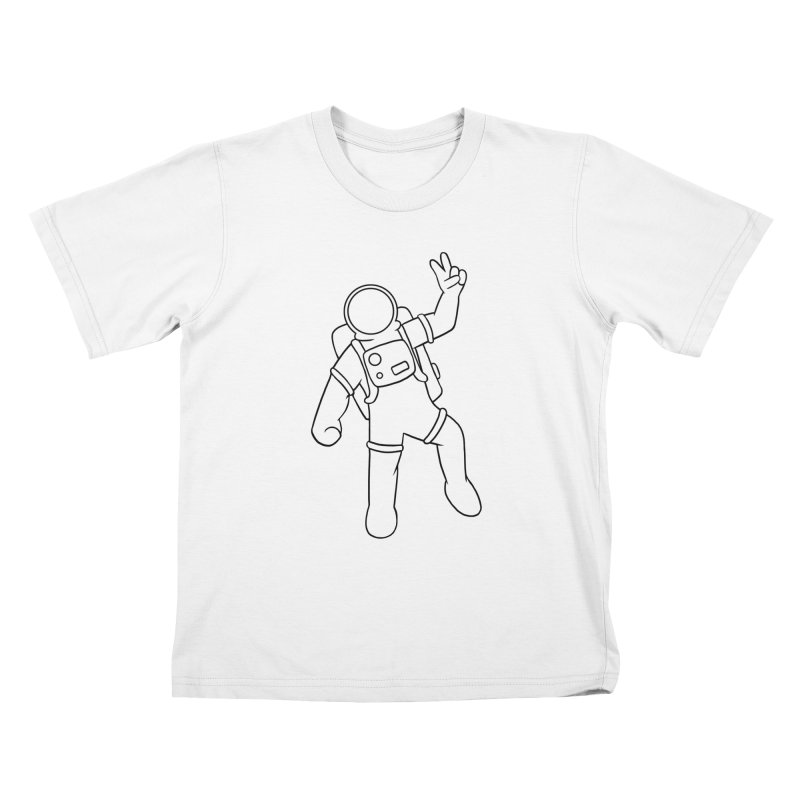 Inter-Cool-Actic - Black - No Text Kids T-Shirt by Rachel Yelding | enchantedviolin