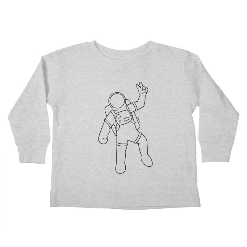 Inter-Cool-Actic - Black - No Text Kids Toddler Longsleeve T-Shirt by Rachel Yelding | enchantedviolin