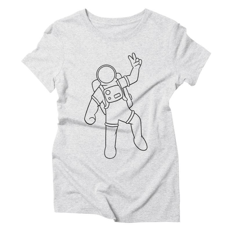 Inter-Cool-Actic - Black - No Text Women's Triblend T-Shirt by Rachel Yelding | enchantedviolin