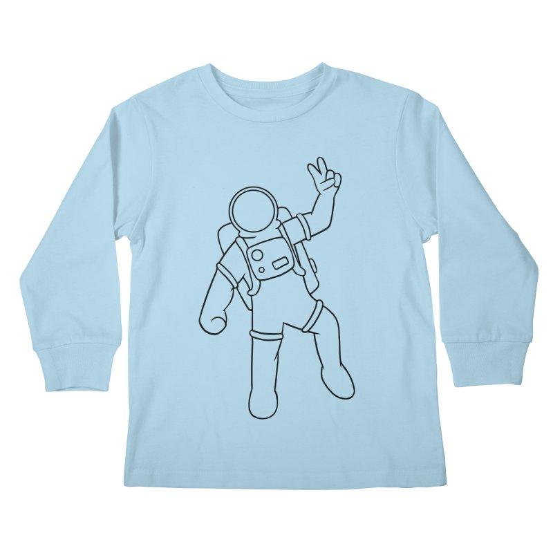 Inter-Cool-Actic - Black - No Text Kids Longsleeve T-Shirt by Rachel Yelding | enchantedviolin