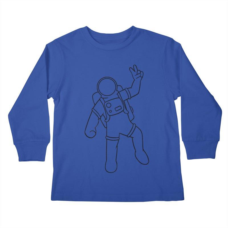 Inter-Cool-Actic - Black - No Text Kids Longsleeve T-Shirt by Rachel Yelding   enchantedviolin