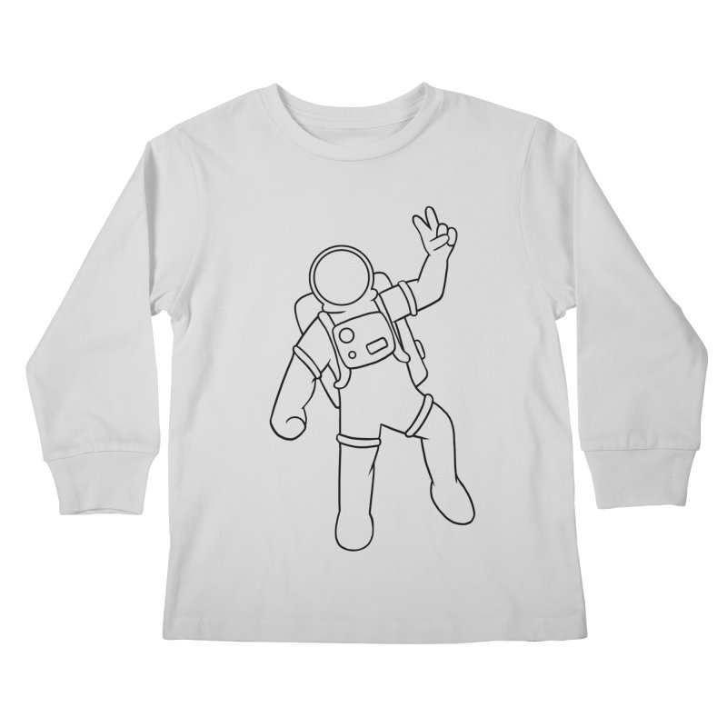 Inter-Cool-Actic - Black - No Text Kids Longsleeve T-Shirt by Rachel Yelding | enchantedviolin