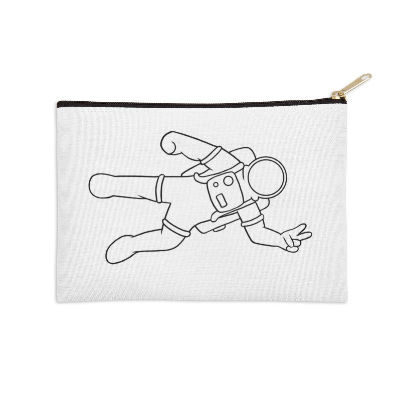 Inter-Cool-Actic - Black - No Text Accessories Zip Pouch by Rachel Yelding | enchantedviolin
