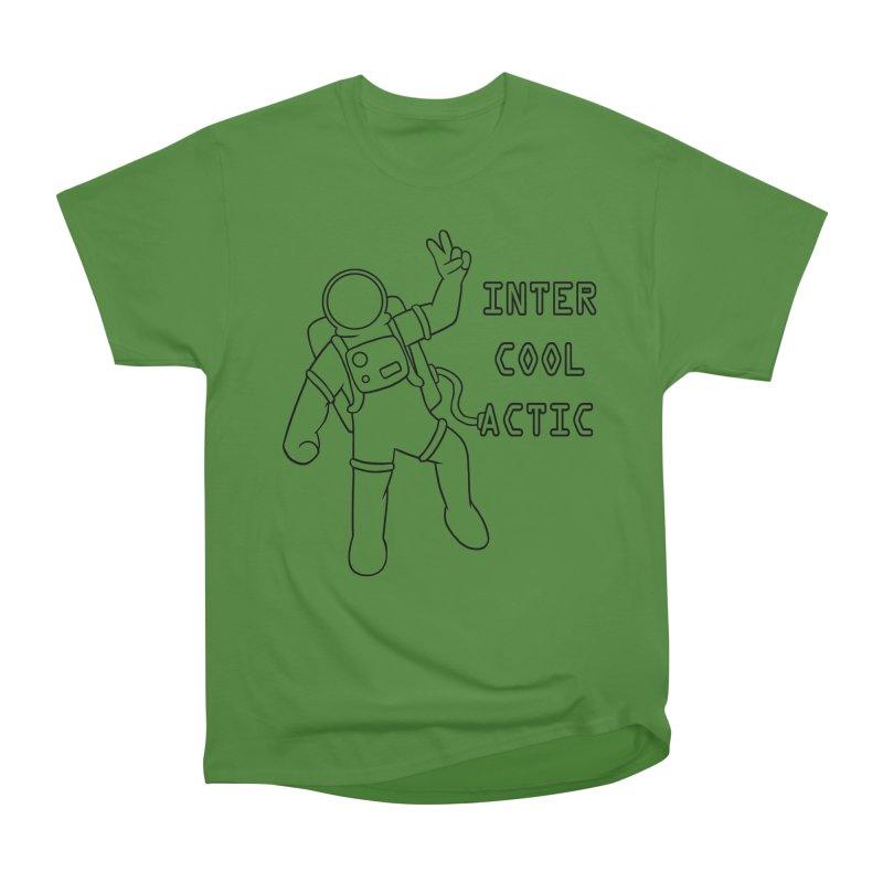 Inter-Cool-Actic - Black - Text Women's Classic Unisex T-Shirt by Rachel Yelding | enchantedviolin