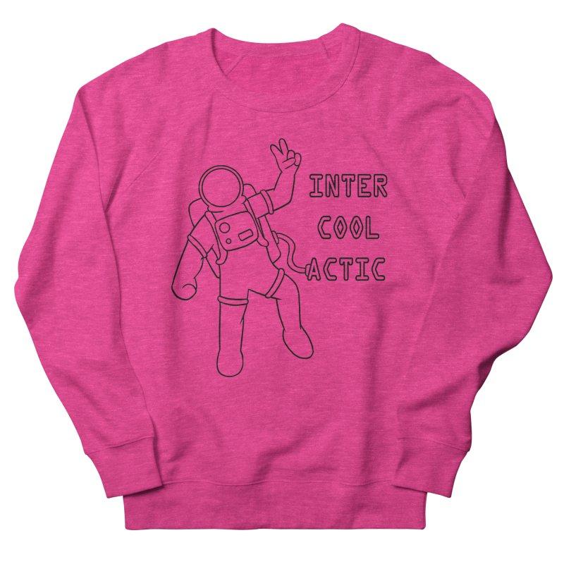 Inter-Cool-Actic - Black - Text Men's Sweatshirt by Rachel Yelding | enchantedviolin