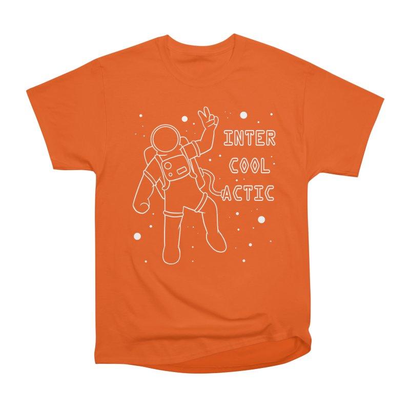 Inter-Cool-Actic - White - Text Women's T-Shirt by Rachel Yelding | enchantedviolin