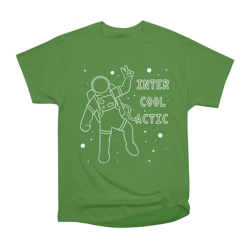 Inter-Cool-Actic - White - Text Women's Classic Unisex T-Shirt by Rachel Yelding | enchantedviolin