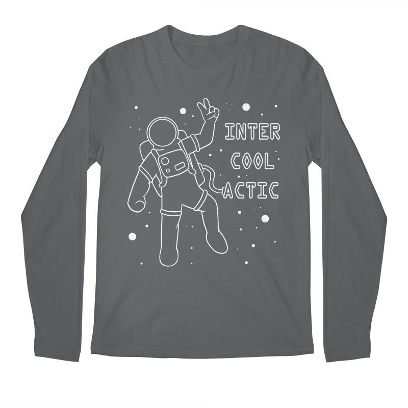 Inter-Cool-Actic - White - Text Men's Longsleeve T-Shirt by Rachel Yelding   enchantedviolin