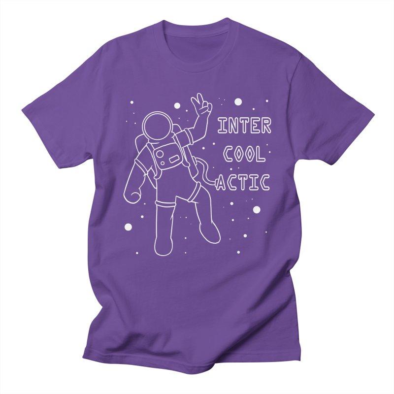 Inter-Cool-Actic - White - Text Women's Regular Unisex T-Shirt by Rachel Yelding | enchantedviolin