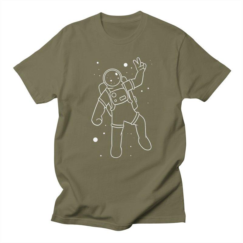 Inter-Cool-Actic - White - No Text Men's T-Shirt by Rachel Yelding | enchantedviolin