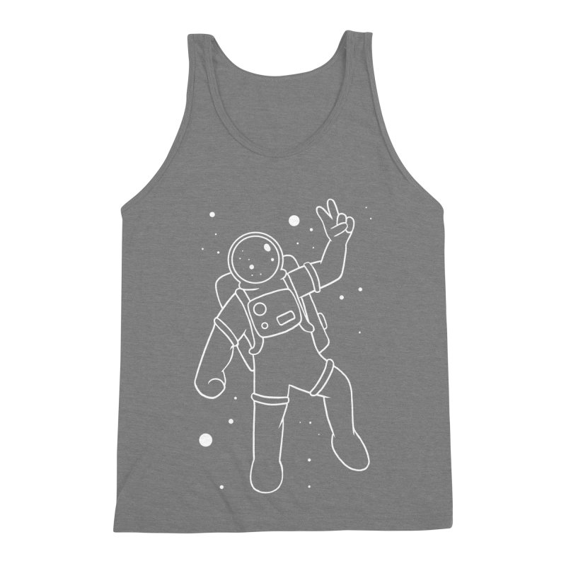 Inter-Cool-Actic - White - No Text Men's Triblend Tank by Rachel Yelding | enchantedviolin