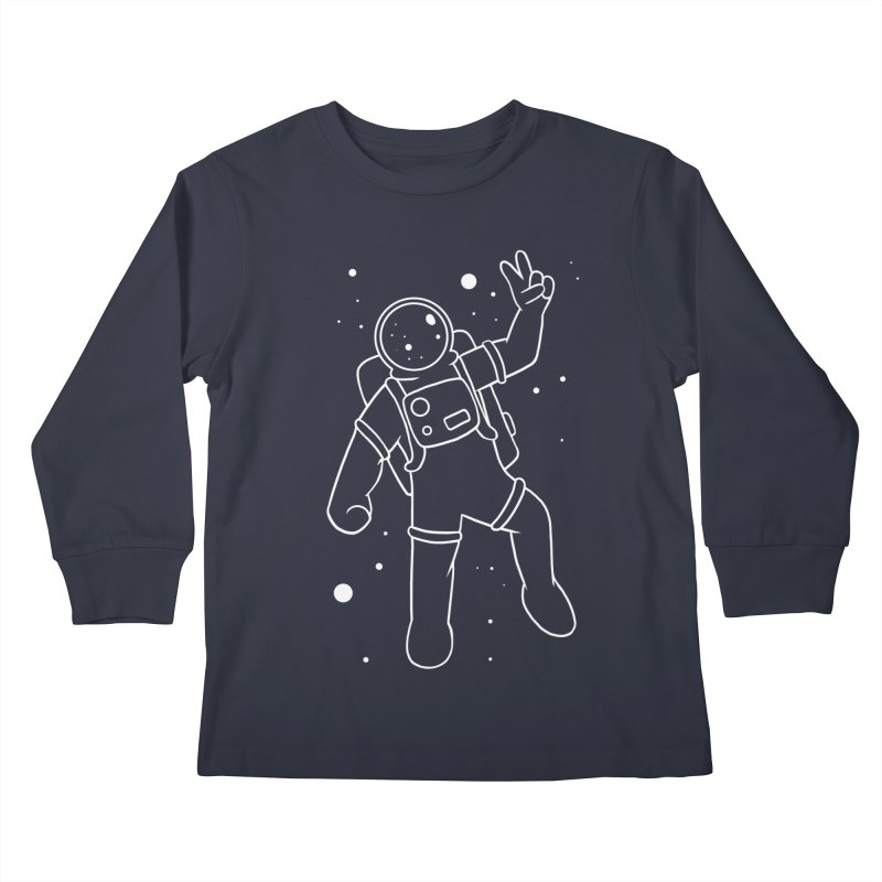 Inter-Cool-Actic - White - No Text Kids Longsleeve T-Shirt by Rachel Yelding | enchantedviolin