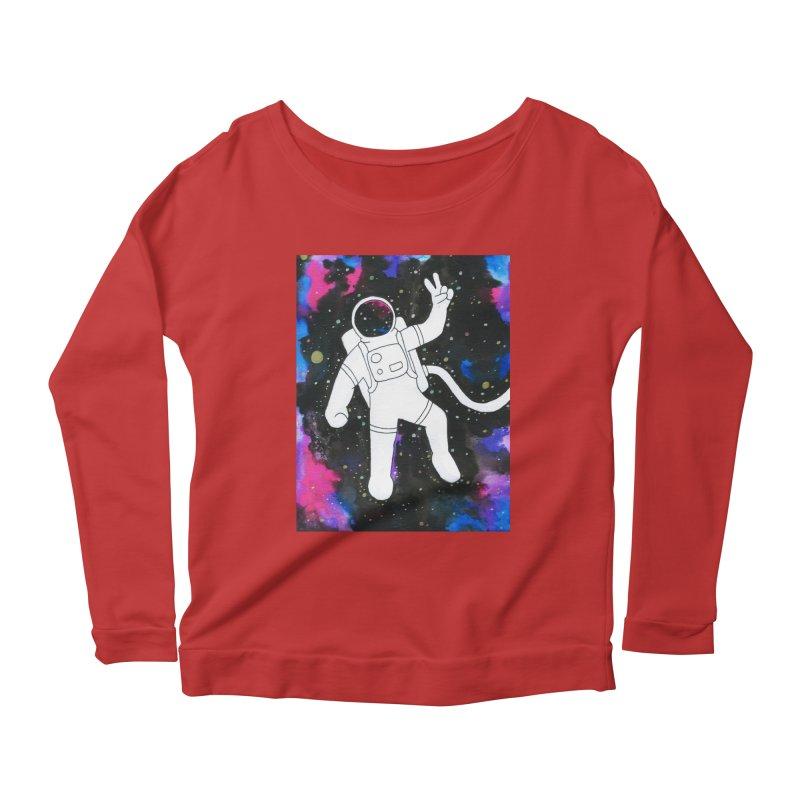 Inter-Cool-Actic - Colour Women's Scoop Neck Longsleeve T-Shirt by Rachel Yelding | enchantedviolin
