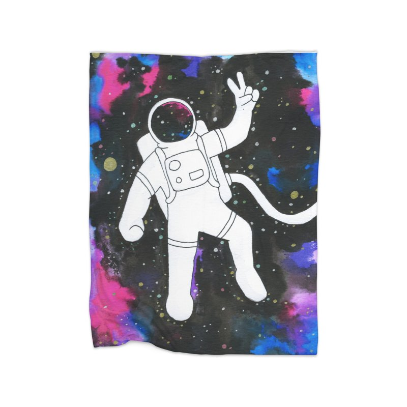 Inter-Cool-Actic - Colour Home Fleece Blanket Blanket by Rachel Yelding | enchantedviolin