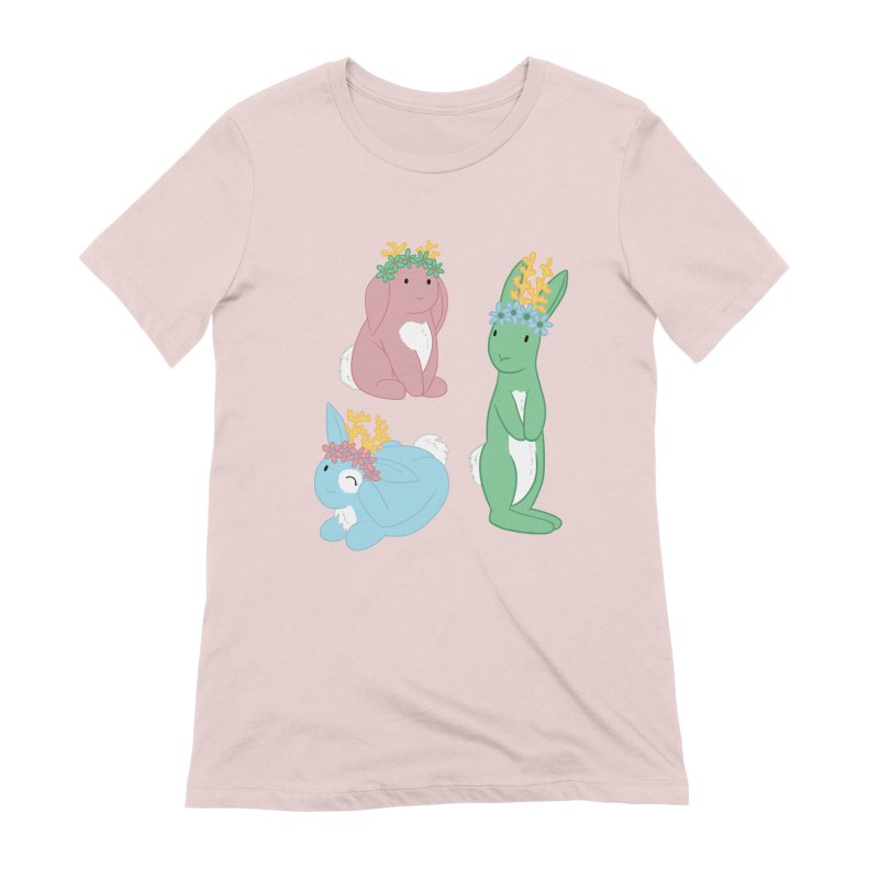 Spring Festival Jackalopes Women's Extra Soft T-Shirt by Rachel Yelding | enchantedviolin