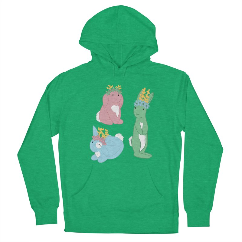 Spring Festival Jackalopes Men's French Terry Pullover Hoody by Rachel Yelding | enchantedviolin