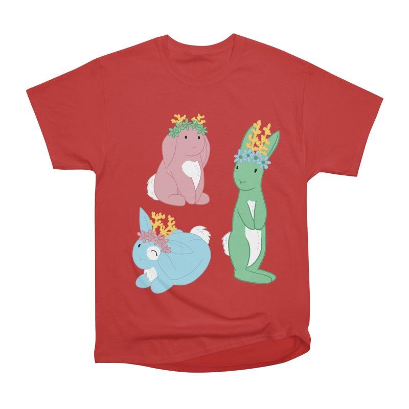 Spring Festival Jackalopes Men's Heavyweight T-Shirt by Rachel Yelding   enchantedviolin