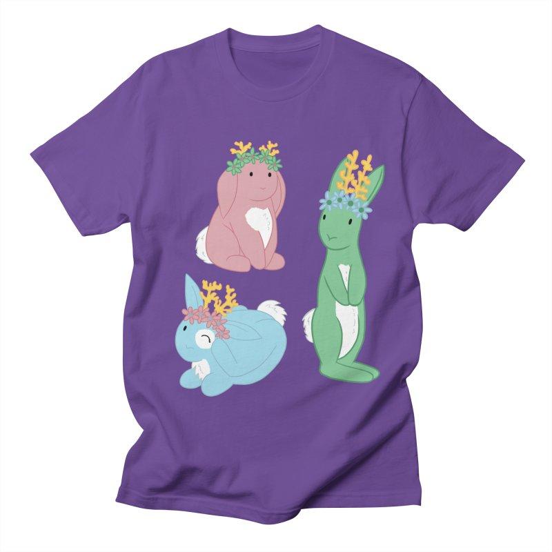 Spring Festival Jackalopes Men's Regular T-Shirt by Rachel Yelding   enchantedviolin