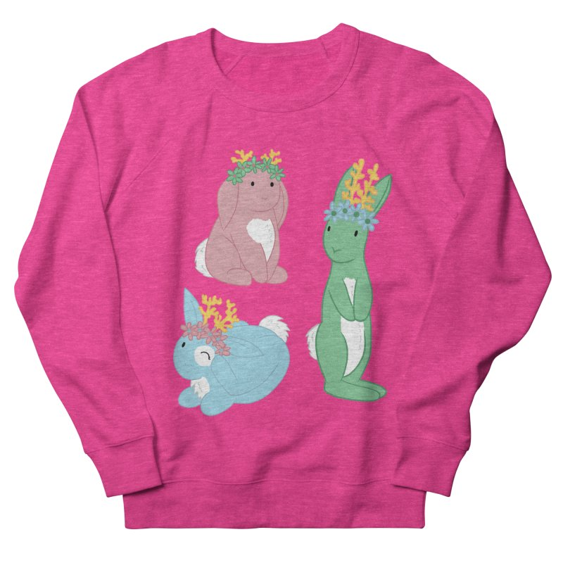 Spring Festival Jackalopes Women's French Terry Sweatshirt by Rachel Yelding | enchantedviolin