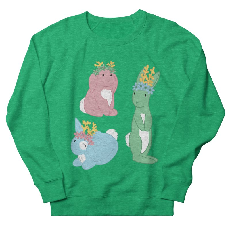 Spring Festival Jackalopes Men's French Terry Sweatshirt by Rachel Yelding | enchantedviolin