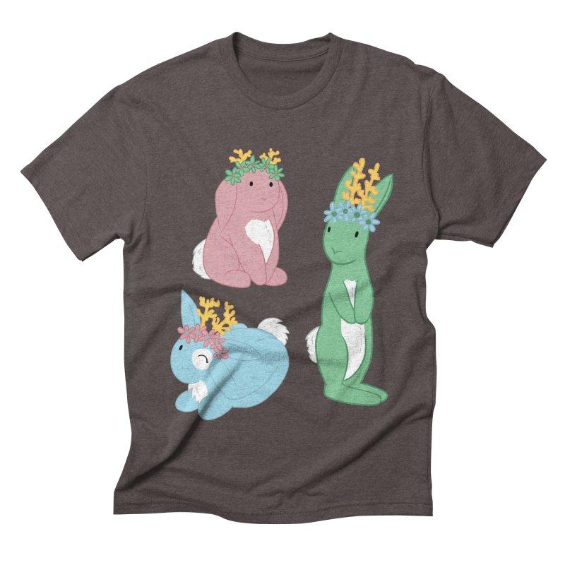 Spring Festival Jackalopes Men's Triblend T-Shirt by Rachel Yelding | enchantedviolin