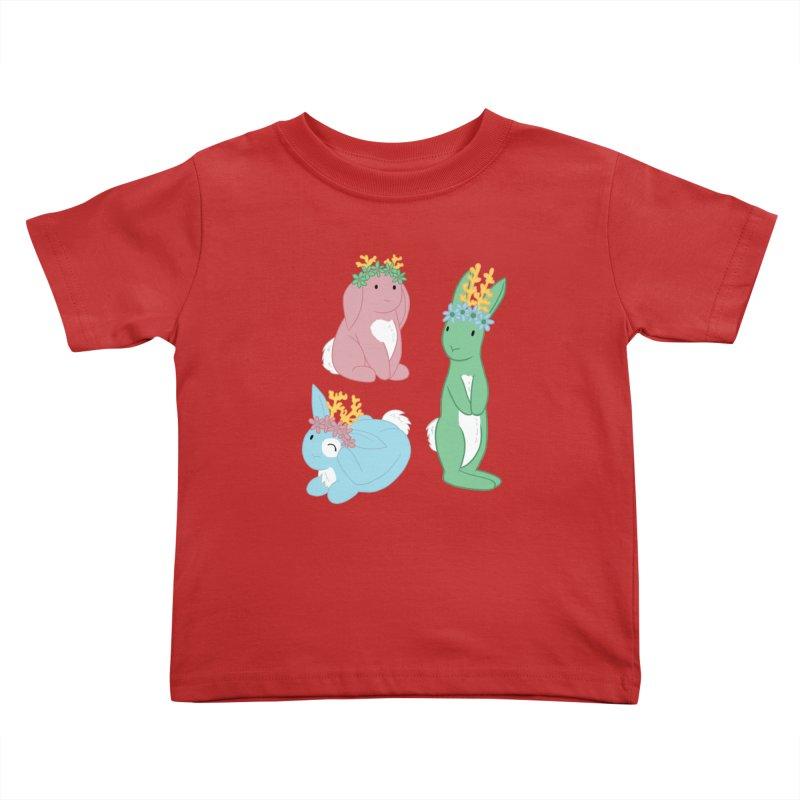 Spring Festival Jackalopes Kids Toddler T-Shirt by Rachel Yelding | enchantedviolin