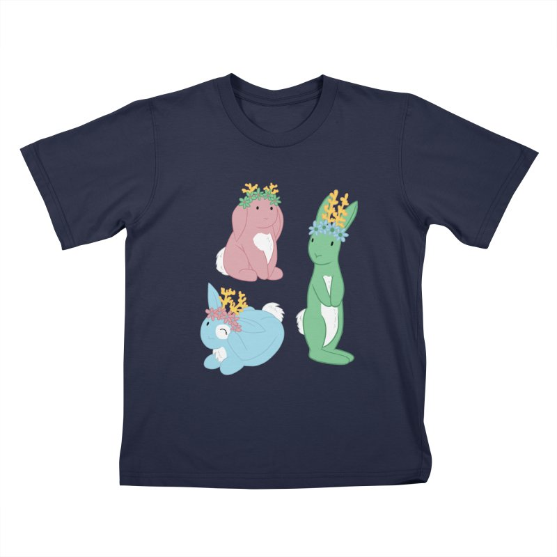 Spring Festival Jackalopes Kids T-Shirt by Rachel Yelding   enchantedviolin