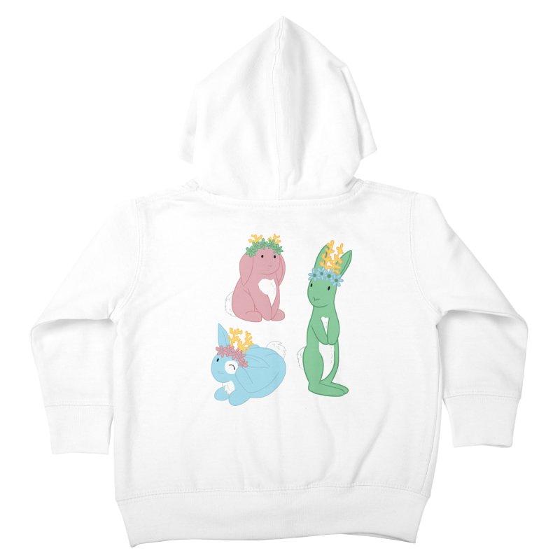 Spring Festival Jackalopes Kids Toddler Zip-Up Hoody by Rachel Yelding | enchantedviolin