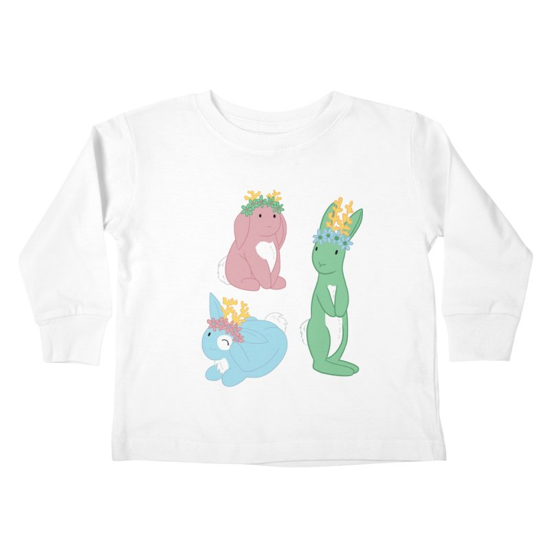 Spring Festival Jackalopes Kids Toddler Longsleeve T-Shirt by Rachel Yelding | enchantedviolin