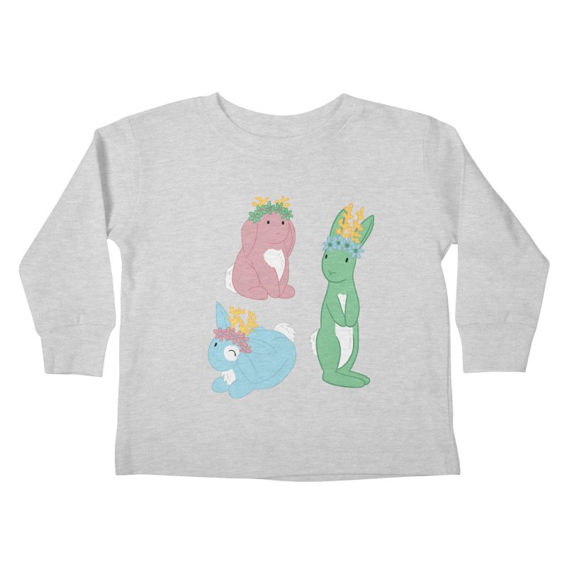 Spring Festival Jackalopes Kids Toddler Longsleeve T-Shirt by Rachel Yelding   enchantedviolin