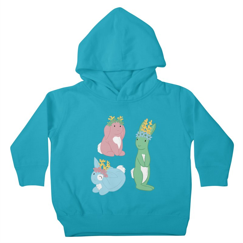 Spring Festival Jackalopes Kids Toddler Pullover Hoody by Rachel Yelding | enchantedviolin
