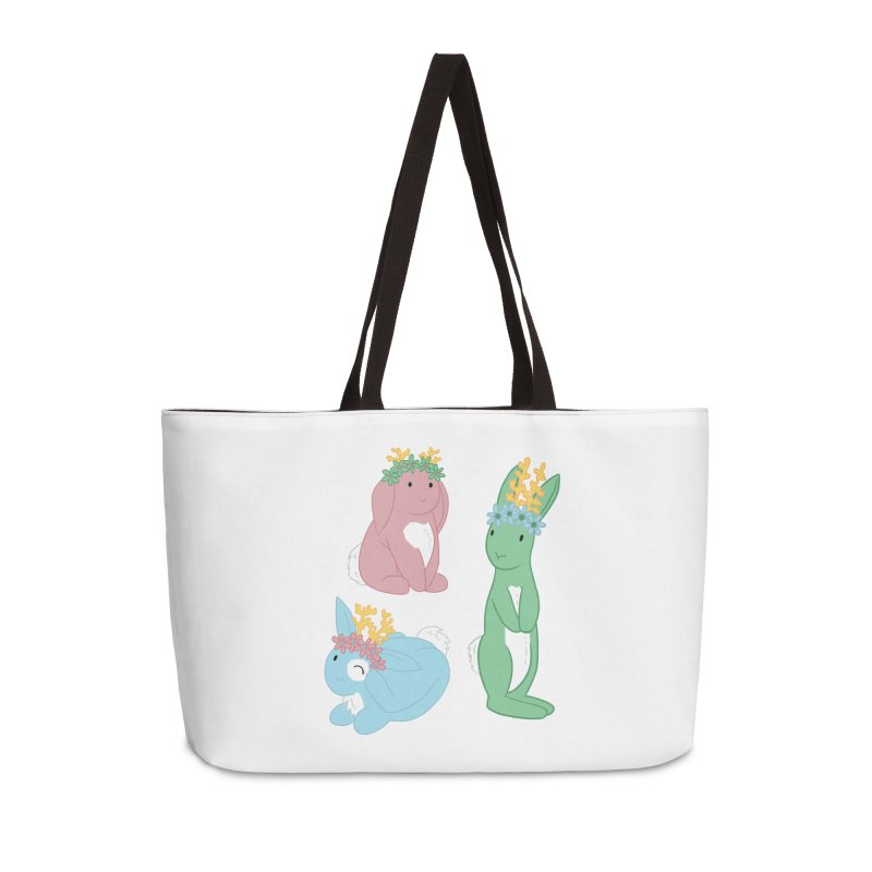 Spring Festival Jackalopes Accessories Weekender Bag Bag by Rachel Yelding | enchantedviolin