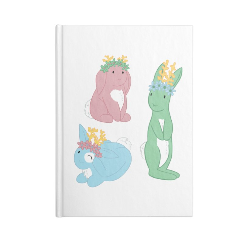 Spring Festival Jackalopes Accessories Lined Journal Notebook by Rachel Yelding | enchantedviolin
