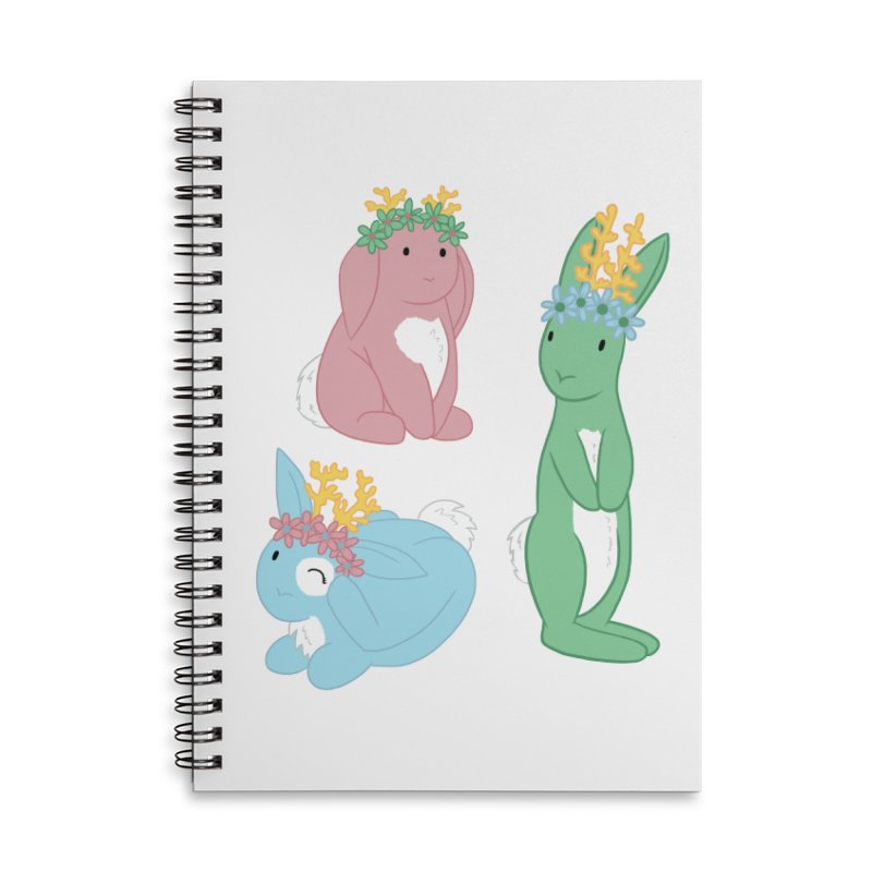 Spring Festival Jackalopes Accessories Lined Spiral Notebook by Rachel Yelding | enchantedviolin