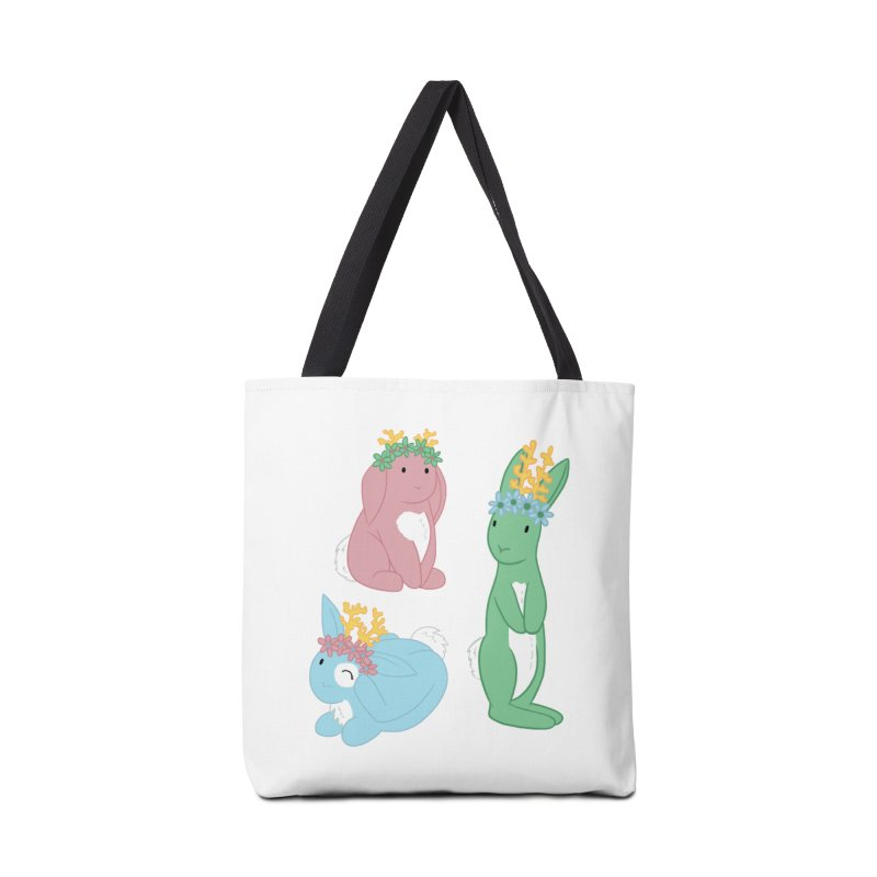 Spring Festival Jackalopes Accessories Tote Bag Bag by Rachel Yelding | enchantedviolin