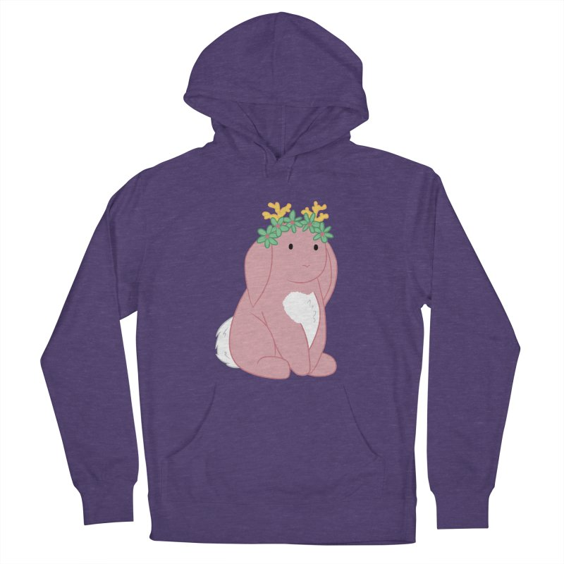 Pink Spring Festival Jackalope Women's French Terry Pullover Hoody by Rachel Yelding | enchantedviolin